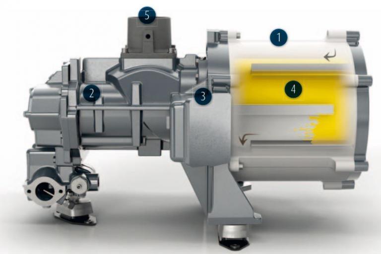 iPM driven compressor